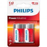 Philips LR14 C Alkaline Batterier 2 stk.