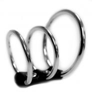 Sex & Mischief 3-rings Penisbur