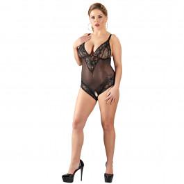 Cottelli Bunnløs Blonde Bodystocking Plus Size