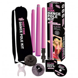 Peekaboo Hot Pink Poledance-stang