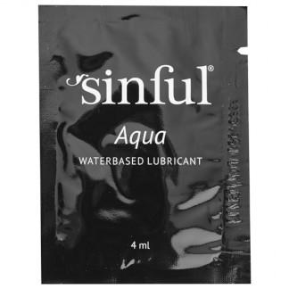 Sinful Aqua Vannbasert Glidemiddel 4 ml