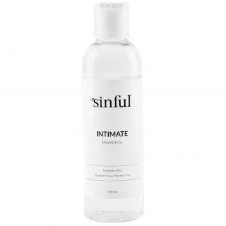 Sinful Intim Massasjeolje 200 ml