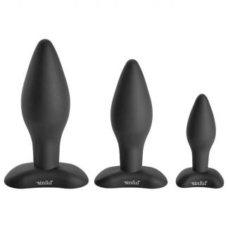 Sinful BumBum Silikon Butt Plug Sett