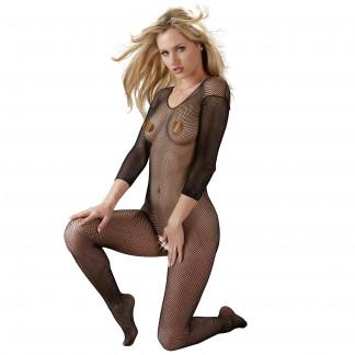 Mandy Mystery Netting Catsuit med ermer