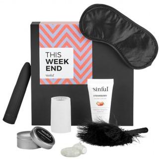 Sinful This Weekend Sexleketøysboks med A-Z Guide