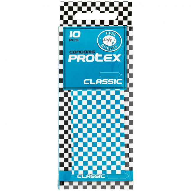 Protex Classic Vanlige Kondomer 10 stk. TESTVINNER