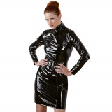 Black Level Lakk Dress