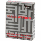Rilaco Black Wonder Svarte Kondomer 4 stk