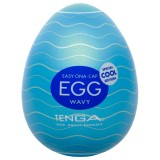 TENGA Egg Wavy Cool Edition Onani Håndjobb for Menn