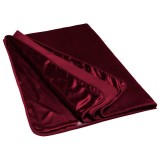 Liberator Fascinator Throw Merlot Luksus Laken