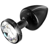 Diogol Anni Black T3 Cristal Buttplug 35 mm