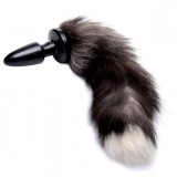 Tailz Grey Fox Tail Analplugg