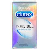 Durex Invisible Ekstra Tynne Kondomer 10 stk