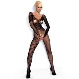 Obessive Blonde Bodystocking med Lange Ermer