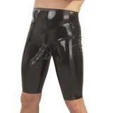 Late X Latex Lang Shorts med Penissleeve Menn