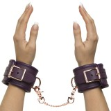 Fifty Shades Freed Cherished Collection Håndleddmansjetter i Lær