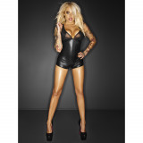 Noir Handmade Wetlook I Am A Narcissist Bodystocking