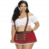 Dreamgirl Heidi-kostyme Plus Size