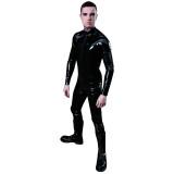 Mister B Rubber Full Bodysuit med Glidelås