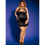 Sunspice Sateng Kjole Sett Plus Size