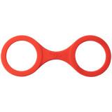 Quickie Cuffs Silikon Håndjern Medium Rød