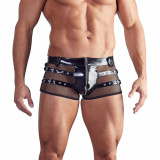 Black Level Lakk Boxershorts med Netting Menn