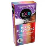 EXS kondomer med smak 12 stk