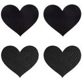 Peekaboos Nipple Stickers Hjerte 2 pk