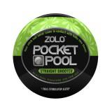 Zolo Pocket Pool Straight Shooter Onani Håndjobb