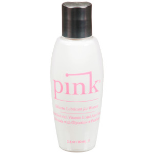 Pink Silkonbasert Glidemiddel 80 ml