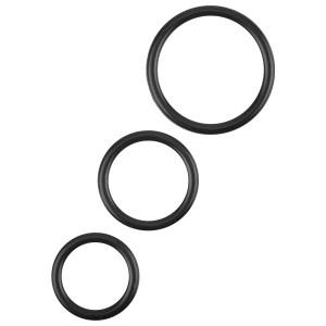 Xa Xa Xoom Smooth Joy Penisringer av Silikon 3 stk.