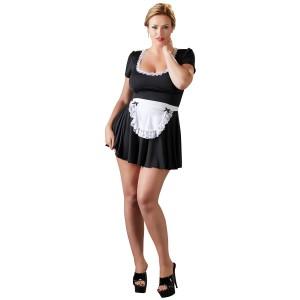 Cottelli French Maid Kostyme Plus Size