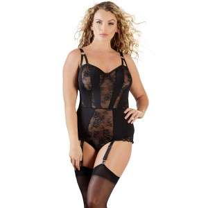 Cottelli Bonde Bodystocking Plus Size
