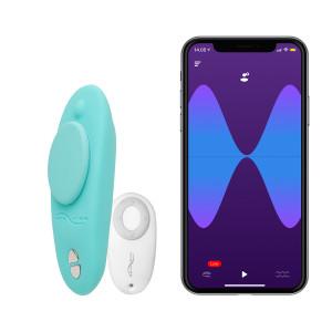 We-Vibe Moxie trusevibrator med fjernkontroll og app