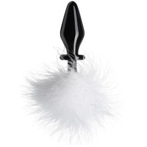 Tailz Fluffer Bunny Glass Analplugg