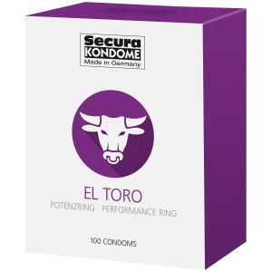 Secura El Toro Kondomer 100 stk