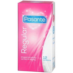 Pasante Regular Kondomer 12 stk.