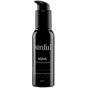 Sinful Aqua Vannbasert Glidemiddel 100 ml