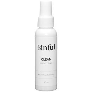 Sinful Clean Sexleketøysrens 100 ml
