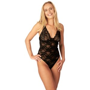 Nortie Liv Bunnløs Blonde Bodystocking