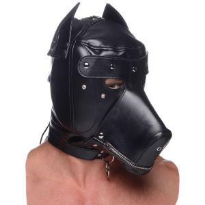 Master Series Muzzled BDSM Hood