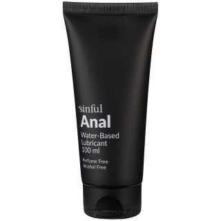 Sinful Anal Vannbasert Glidemiddel 100 ml