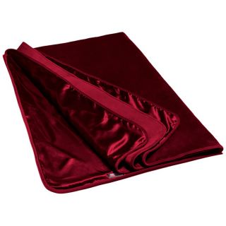 Liberator Fascinator Throw Merlot luksuslaken