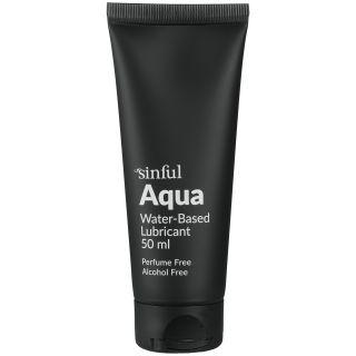 Sinful Aqua Vannbasert Glidemiddel 50 ml