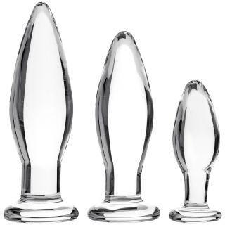 Sinful BumBum Glass Butt Plugg Sett