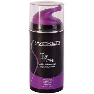 Wicked Toy Love gel til sexleketøy 100 ml