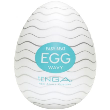 TENGA Egg Wavy Håndjobb for Menn
