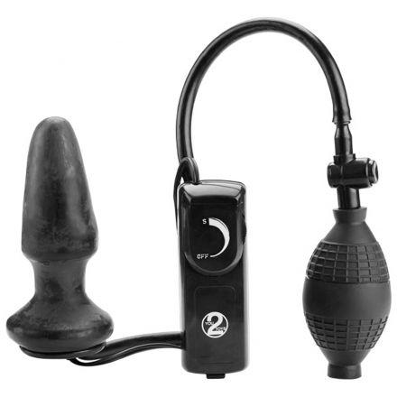 Fanny Hill Oppblåsbar Buttplugg Med Vibrationer