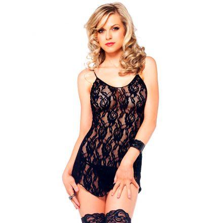 Leg Avenue Blonde Minikjole og G-streng