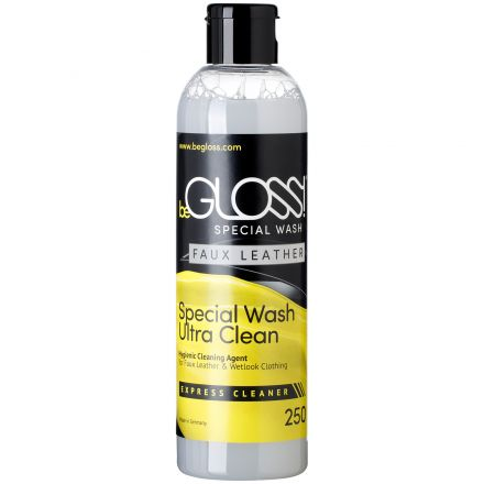 beGLOSS Special Wash til Kunstlær 250 ml